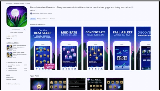 Apps for Relaxation and Meditation