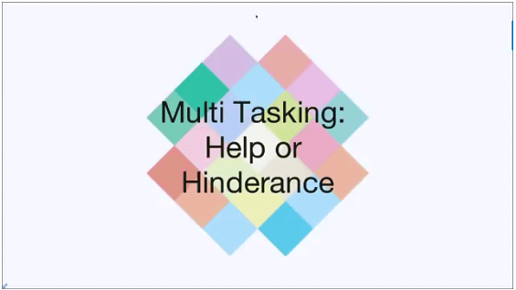 Myth of Multi Tasking!