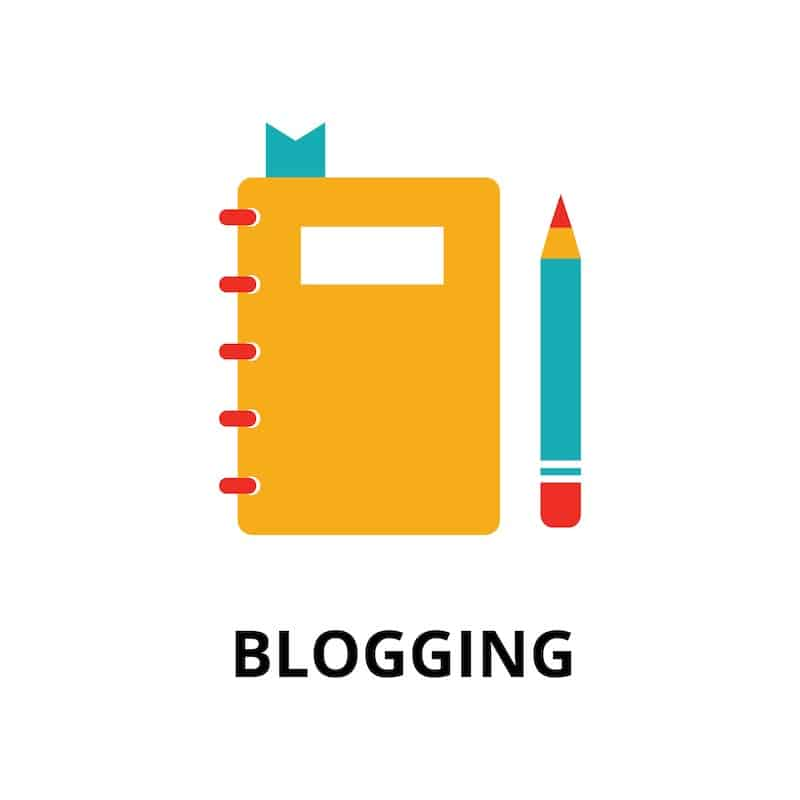 blogging graphic